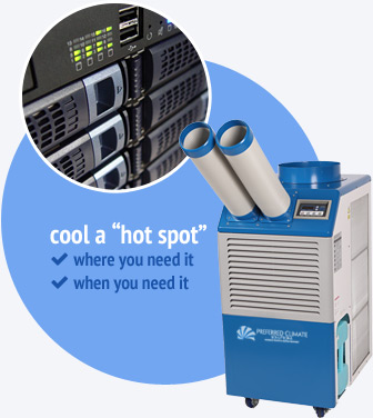 What is a spot cooler